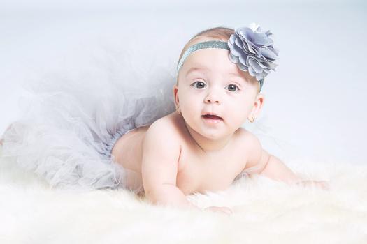 Cute baby by Jan de wild