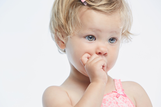Cute toddler by Jan de wild