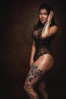 Tattoo Girl by Jan de wild