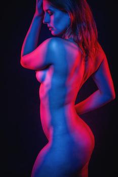 Renata posing naked by Jan de wild