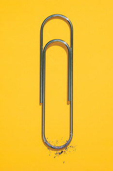 OH Lottery Paper clip
