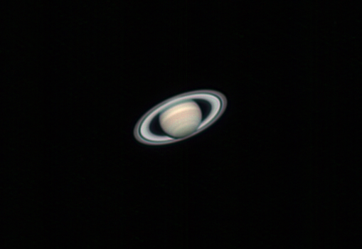 Saturn taken from my backyard in Mesa, AZ