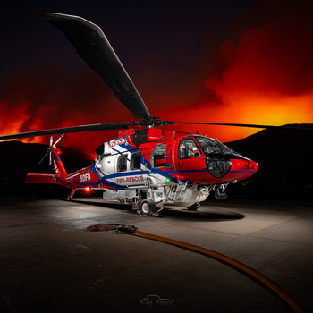 SDFD Firehawk - Copter 3 by Creigh McIntyre