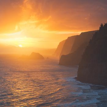 Polulu Sunrise by Tor-Ivar Næss