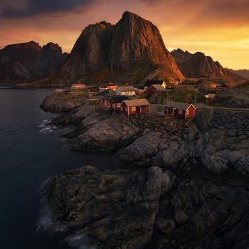 A Lofoten Islands Classic by Tor-Ivar Næss