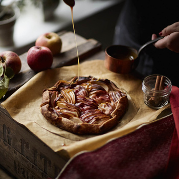 Apple Tart by OMS Photo