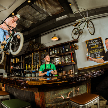 Bar, on a bar, at a bar... by Tom Beckman