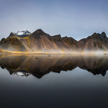 Mountain Mirror by Jakob Alecu de Flers