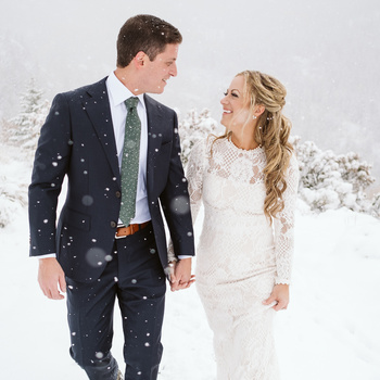 Alison & Trevor's winter elopement in Colorado by Nina Larsen Reed