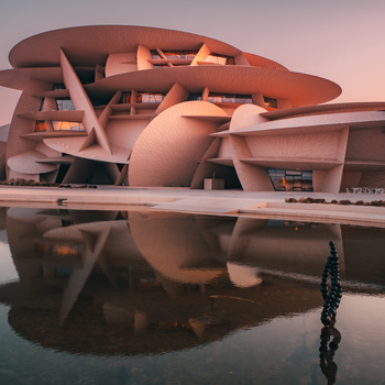 National Museum of Qatar by Kim Reyes