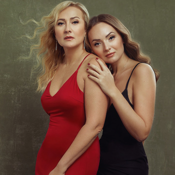 Mother and daughter by Irina Jomir