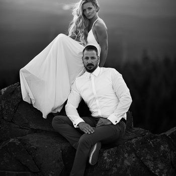 Couple in Nature by Jan Christian Zimara