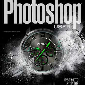 Photoshop User Magazine Cover (February Issue) by Brian Rodgers Jr.