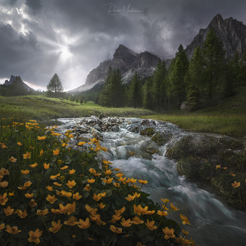 Italian Dolomites a beautiful places by Paolo Montanari