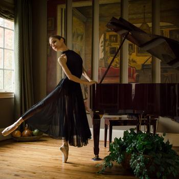 Ballerina in Black  by Hector Reyes