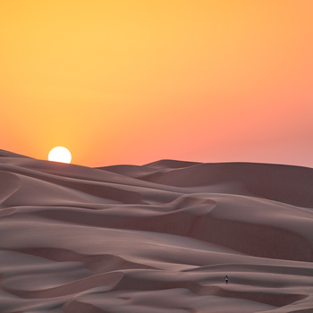 Sand Dunes & Sunset by Markus Lang