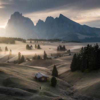 Alpe di Siusi by Philip Slotte