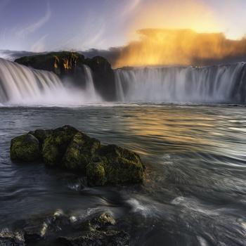 Goðafoss by Mikkel Beiter