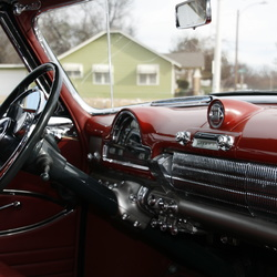 Automotive interiors of classics