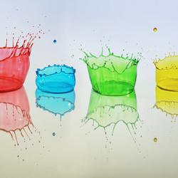 High Speed Liquid Art