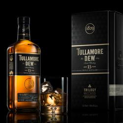 Tullamore DEW 15yo hero shot by Piotr Maksymowicz