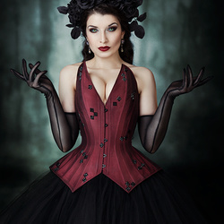 Gothic Queen by Kim Silver