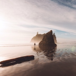 Ruby Beach by Selene Miller