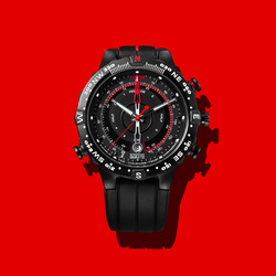 Timex-Red by Arun Sivaraman