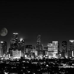 Houston Skyline by Hussain Hijazi