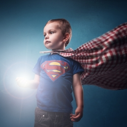 SuperLeo (boy of steel)