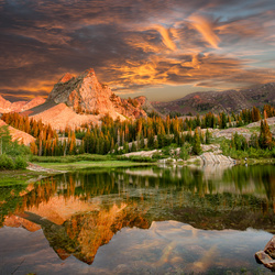 Lake Blanche by Kevin Miller