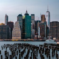 Manhattan from Pier 2
