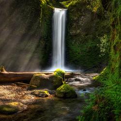 Wiesendanger Falls by Chris Ward