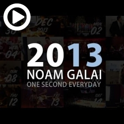 Noam Galai - 2013 - One Second Everyday
