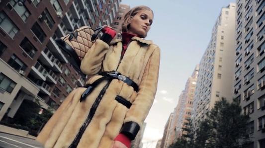 """Winter In The Big City"" - October 2014 Yo Dona magazine editorial"