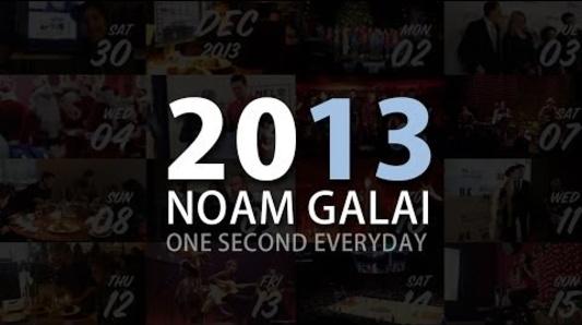 Noam Galai - 2013 - One Second Everyday