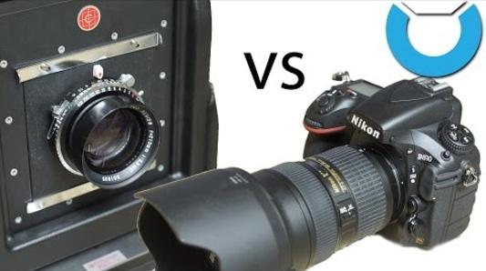 "Nikon D810 vs 4x5 Large Format ""Review"""