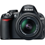 Nikon D3100 entry level digital camera