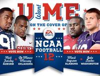 EA Sports NCAA Football photoshoot