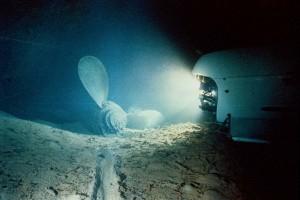 titanic underwater photography