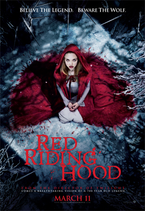 Kimberley French, Red Riding Hood, Amanda Segfried, movie poster