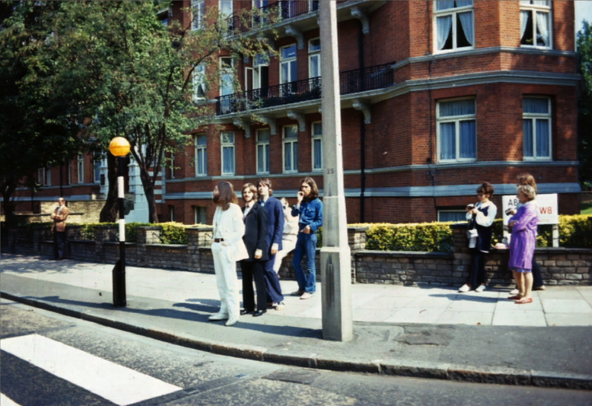 Picture making history the shot before the beatles abbey road from pratik biocorpaavc Choice Image