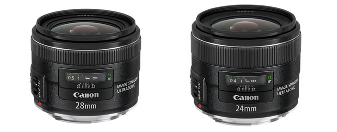 New 24mm and 28mm primes