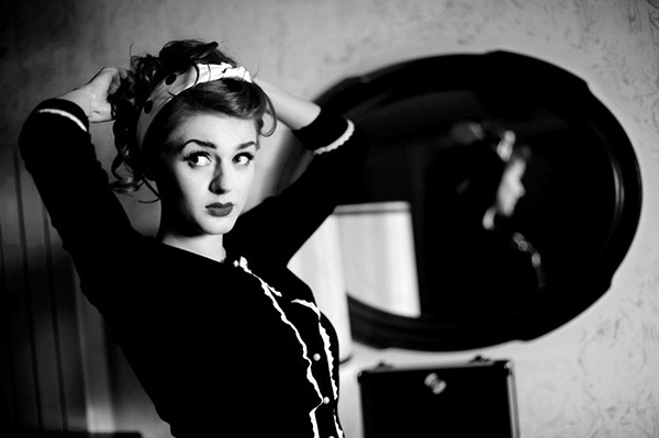 Pics Beautiful Film Noir Inspired Portraits Fstoppers