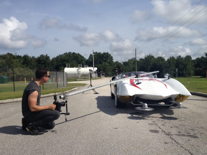 Photographing And Driving The Real Speed Racer Mach 5