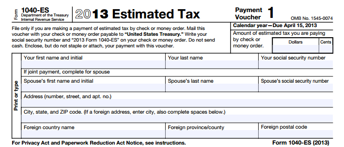 EstimatedTax