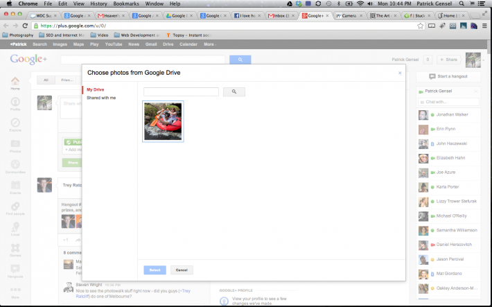 How To Share High Resolution Photos On Google+ Using Google