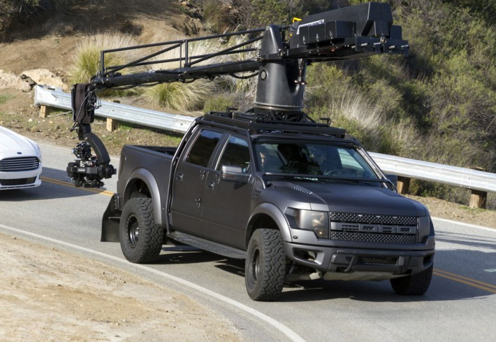 Behind the scenes of the new Ford Fusion ad shoot - images by John Duah / Gawker Media
