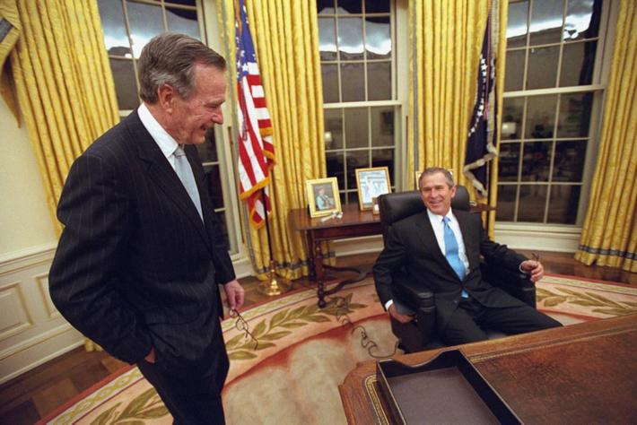 George W. Bush BTS-1-2