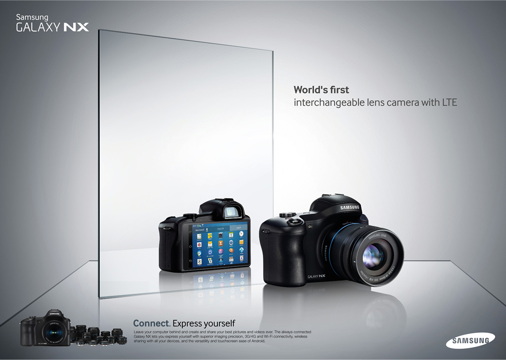This is Cool: Samsung Announces First Interchangeable Lens Camera ...